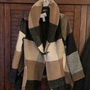 Bar III plaid jacket.
